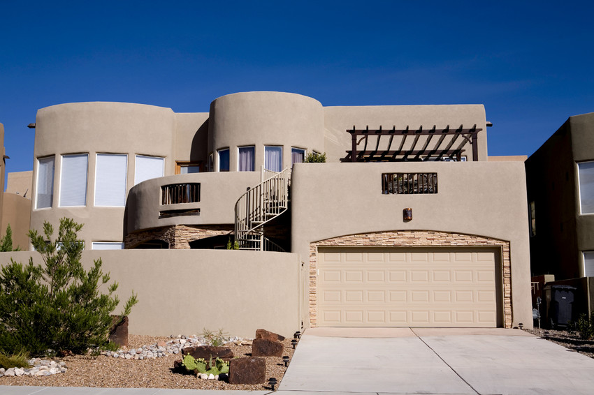 typical house in Santa Fe