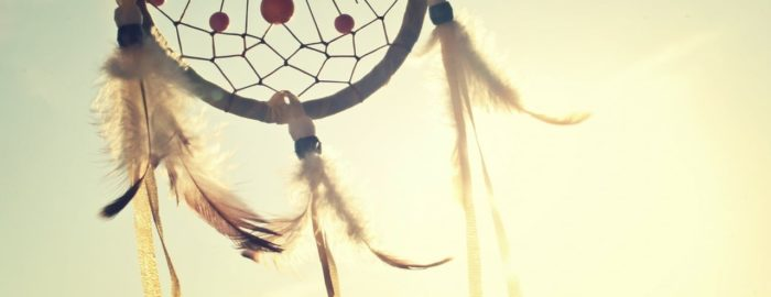 Dream catcher in the sun.