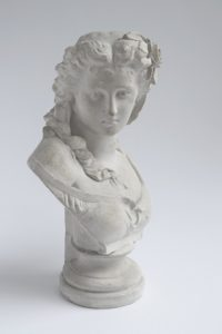 An ancient bust