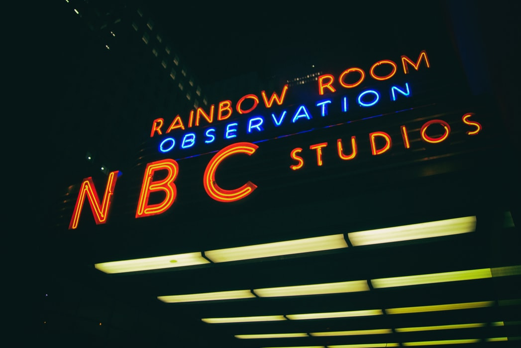 NBC Studios in NYC.