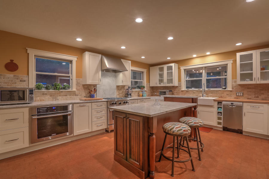 The kitchen at 2628 Harvest Lane NW.